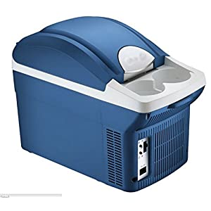 MobileFDL 8L Portable Car Mini Cool box Refrigerator Fridge Cooler and Warmer 12 V Connection For Camping / Outdoor / Travel