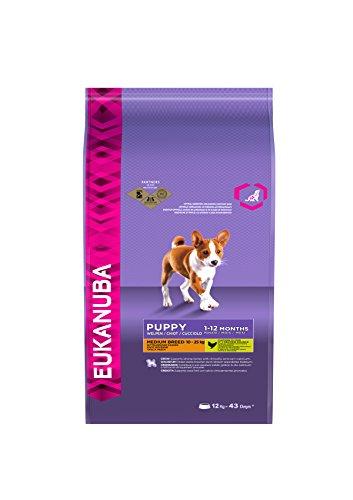 EUKANUBA Puppy taglia media secco cane 12kg - Mangimi secchi per cani crocchette