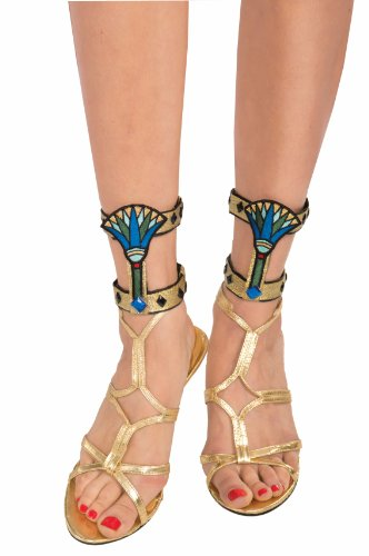 Deluxe Pair Egyptian Female Costume Ankle Bands Adult