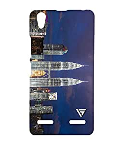 Vogueshell Building Printed Symmetry PRO Series Hard Back Case for Lenovo A6000