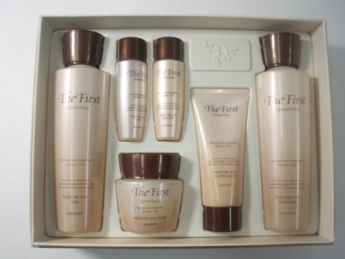 Korean Cosmetics_Spring Leaves of Green Tea Skin Care Set