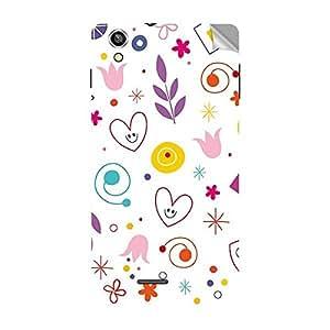 Garmor Designer Mobile Skin Sticker For Lava Iris X1 Beats - Mobile Sticker