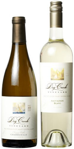 Dry Creek Vineyard White Wines Mixed Pack (Library Edition), 2 X 750 Ml