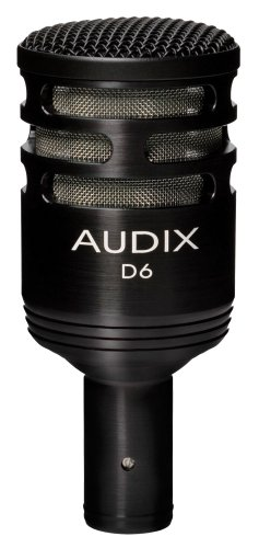 Audix D6 Dynamic Microphone, Cardioid