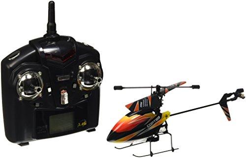 01140 | V911 4.5 Kanal 2,4 Ghz Heli Hubschrauber RC ferngesteuerter Hubschrauber/Helikopter/Heli mit LCD Display und GYROSCOPE-TECHNIK + 2,4Ghz TECHNOLOGIE!!! für INNEN und AUSSEN brandneu mit eingebautem GYRO und 2.4 GHz Steuerung! FLUGFERTIG!
