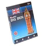 イギリス《ビッグベン/BIG BEN》ミニ3D立体パズル(13ピース)インテリア玩具通販【CubicFun社】 -