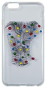 Back Cover Designer Printed Transparent TPU Back Case for Apple iPhone 6 ZT12634