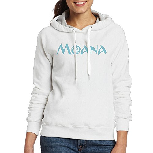 Lightweight 80's Juniors Lady's Moana Logo Small Hoodie