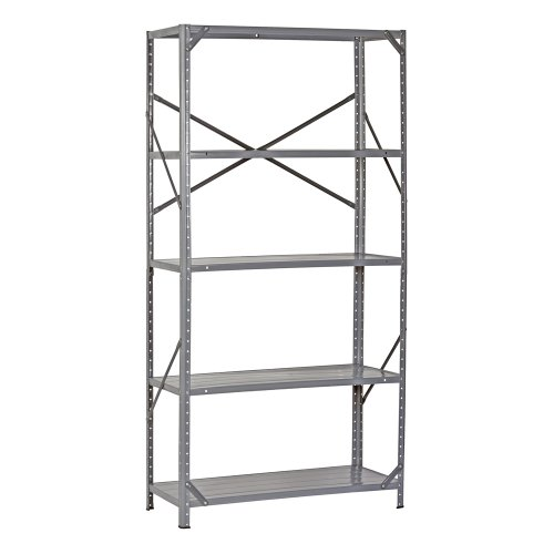 Edsal 7216H Steel Commercial Shelving Unit, 36