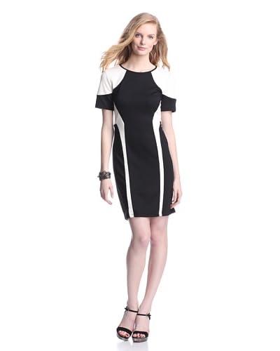 W118 by Walter Baker Women's Sharon Dress  [Black/ivory]
