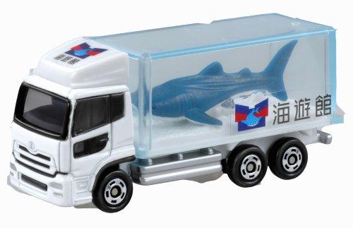 Takara Tomy Tomica #069 Nissan Diesel Quon Aquarium Truck - 1