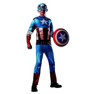 Rubie's Costume Co Rubie's Costume Co Avengers Assemble: Captain America Kids Costume