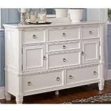 Cottage Style White Prentice Bedroom Dresser