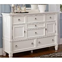 Big Sale Cottage Style White Prentice Bedroom Dresser