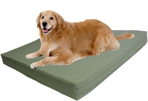 Extra Large Therapeutic Waterproof Memory Foam Dog Pet Bed 40
