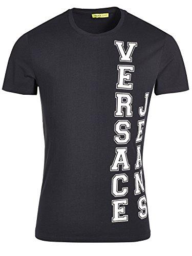 Versace Jeans Couture T-Shirt (M-03-Ts-34126) - 46(DE) / 46(IT) / 46(EU) - schwarz