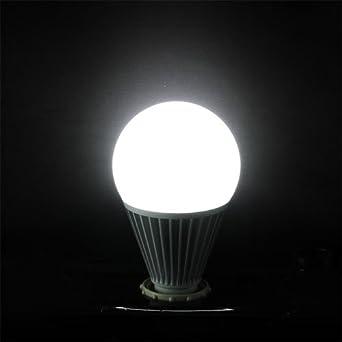 MuchBuy 15 Watt Pure White LED Bulb Globe Lamp Ball Light, E27 Standard Household Base, 1500 Lumen