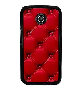 Fuson Premium 2D Back Case Cover leather pattern With Multi Background Degined For Motorola Moto E XT1021::Motorola Moto E (1st Gen)
