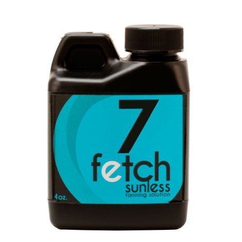 Fetch Sunless Spray Indoor Tanning Airbrush Solution 7% Dha Dark Formula 4Oz front-975820