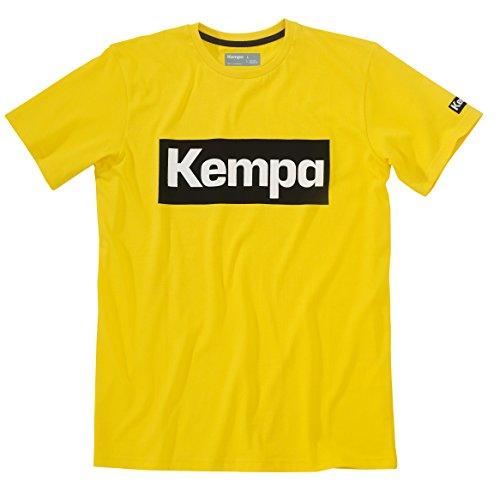 Kempa Maglietta da uomo Promo, Uomo, T-Shirt Promo, giallo mais, XXXS