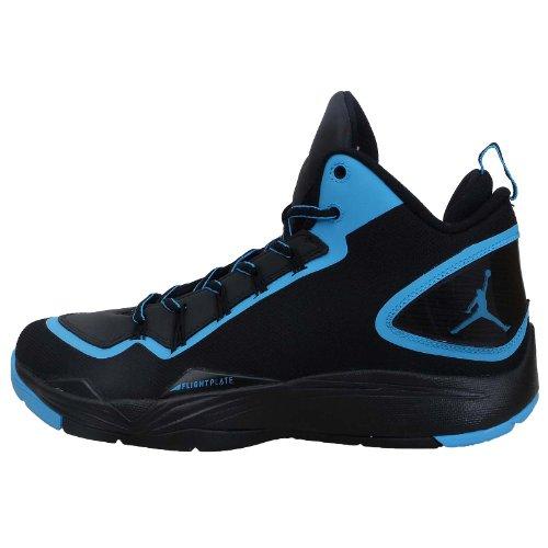 683acd90da64 Nike Jordan Super Fly 2 PO X Black Powder Blue (645064-006) Review ...