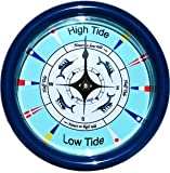 Nautical Tide Clock with Maritime Signal Flag Dial design
