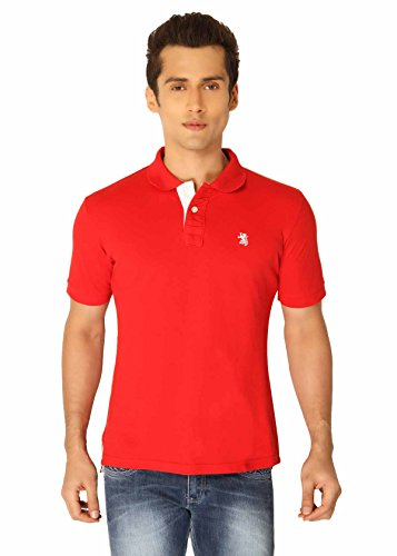 Red The Cotton Company Luxury Polo's - Red (Multicolor)