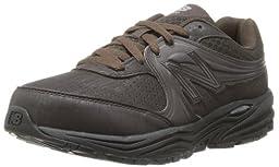 New Balance Men\'s MW840 Walking Shoe,Brown,9.5 4E US