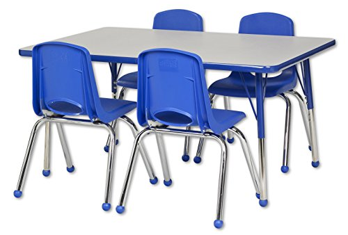 ECR4Kids 30 X 48 Rectangular Activity Table Toddler