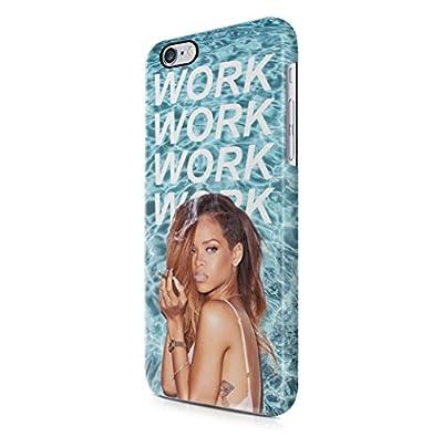 Rihanna Work Lyrics iPhone 6, iPhone 6S Hard Plastic Phone Case Cover