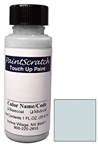 1 Oz. Bottle of Icy Blue Metallic Touch Up Paint for 2007 Mazda Mazda3 (color code: 33Y) and Clearcoat