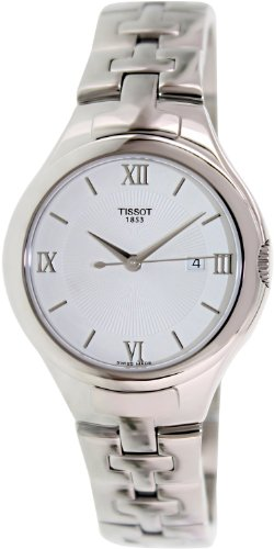 Tissot T-Trend Silver Dial Stainless Steel Ladies Watch T0822101103800
