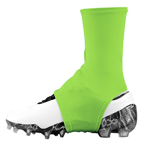 Dmaxx Spats Football Cleat Covers (Neon Green, Large) (Neon Green Football Cleats compare prices)