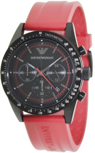 Armani Sportivo Chronograph Rubber - Red Men'S Watch #Ar6114