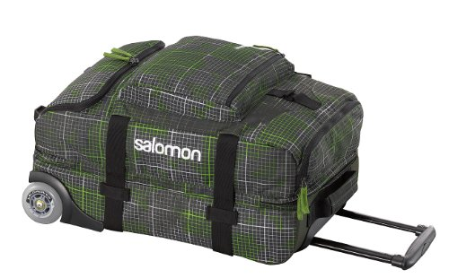 Salomon Reisetasche Container 70, Darkswamp/Neo