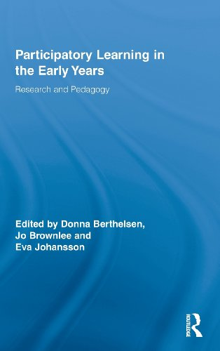 Participatory Learning in the Early Years: Research and Pedagogy (Routledge Research in Education)
