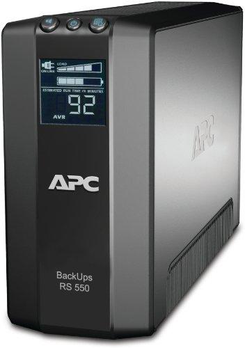 APC Back-UPS RS LCD 550 Master Control - UPS - AC 230 V - 330 Watt - 550 VA - USB - 6 Output Connector(s)