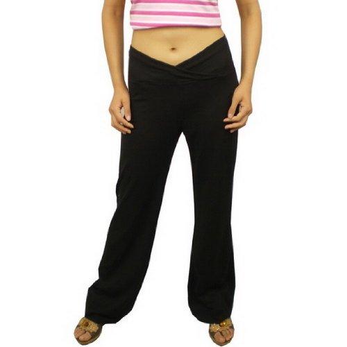 Womens Black H&M Comfortable Fit DRI-FIT Sport Pants (Size: S)