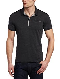 Icebreaker Men's Quattro Short Sleeve Polo Shirt, Jet, Large
