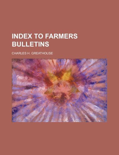 index to farmers bulletins