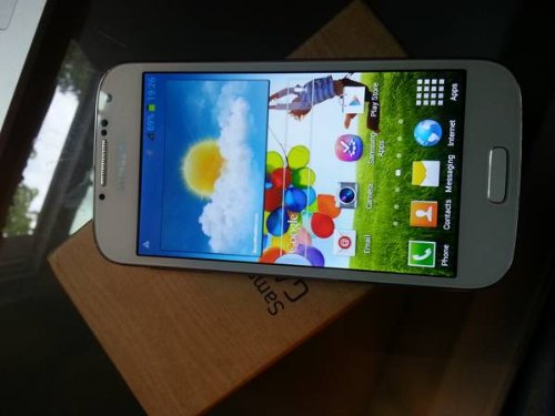 LTE MODEL White Samsung Galaxy S4 GT-i9505 16GB