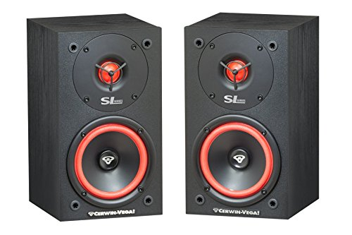 Cerwin Vega Sl5M 2-Way Satellite Speaker, Pair