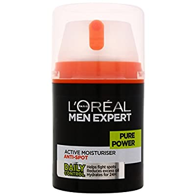 L'Oreal Paris Men Expert Pure Power Moisturiser 50ml