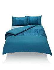 Textured Pleat Design Bedset