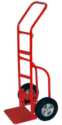 Milwaukee Hand Trucks 33007 Heavy Duty Flow Back Handle Truck With 10-Inch Puncture Proof Tires front-454463