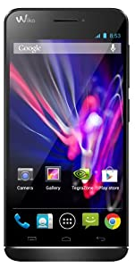 Wiko Wax Smartphone USB Android 4.3 Jelly Bean 4 Go Noir