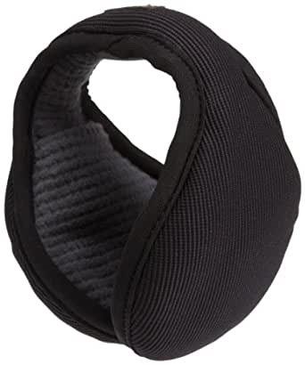 180s Commuter With Headphones Ear Warmer,Black,One Size