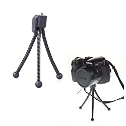 Omax Pocket Camera Tripod for All Compact Point & Shoot Digital cameras