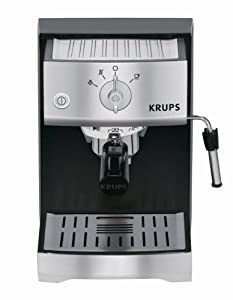 KRUPS XP5220 Pump Espresso Machine with KRUPS Precise Tamp Technology and Stainless Steel... by KRUPS