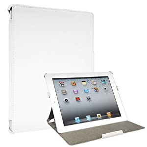 Toblino 2 Leather Case for iPad 2 - White